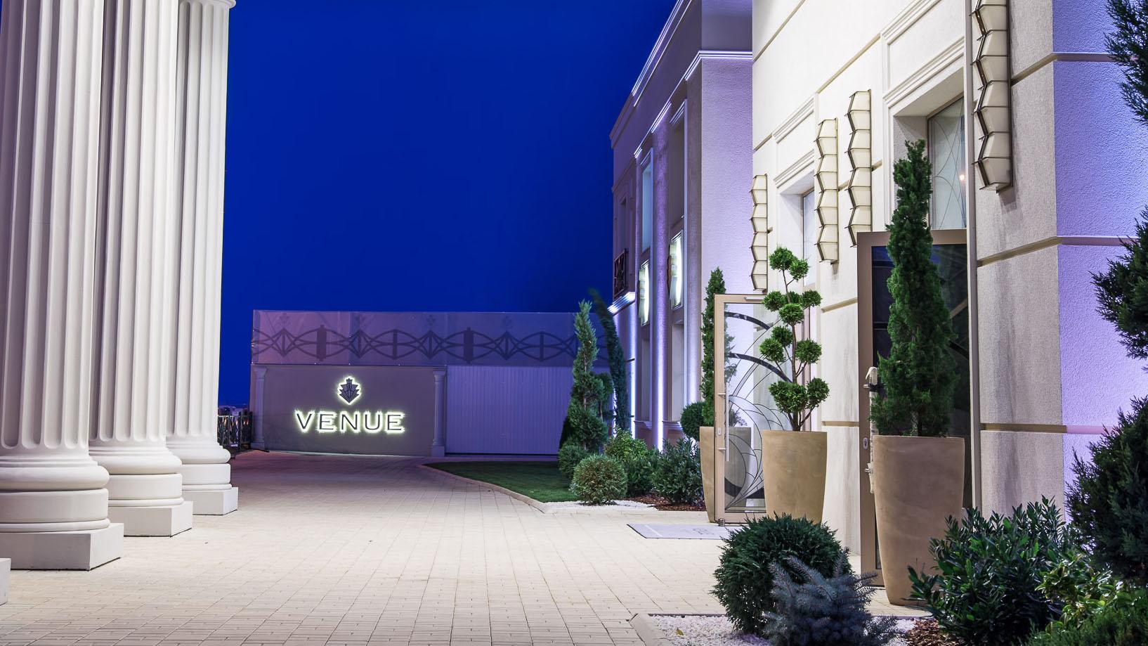 Venue, Events Hall. Timisoara, Romania.